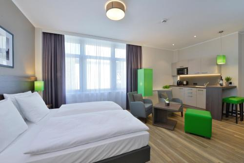 A room at Appartello Smarttime living Hamburg