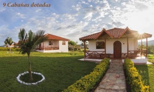 Jardín al aire libre en Hacienda Sanmiguel de la Prada