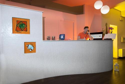 Lobby/Rezeption in der Unterkunft Hotel Casablanca