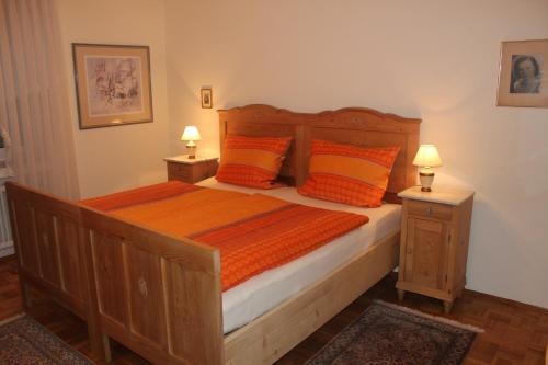 Ein Zimmer in der Unterkunft Ferienwohnung Waltraud