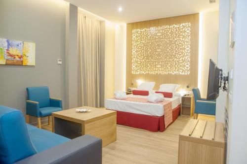 Una habitación en Soho Boutique Capuchinos & Spa
