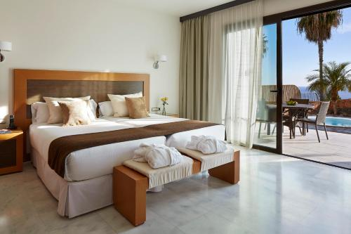 A room at Hotel Suite Villa Maria