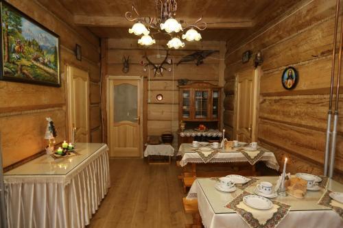 Restauracja lub miejsce do jedzenia w obiekcie Małgosia Regionalna