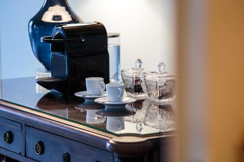 Coffee and tea-making facilities at Dear Lisbon - Palace Chiado Suites