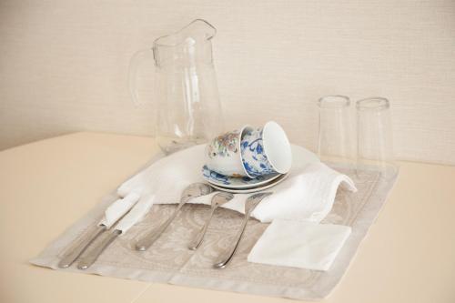 Принадлежности для чая и кофе в Ретро-Отель Купеческий Двор
