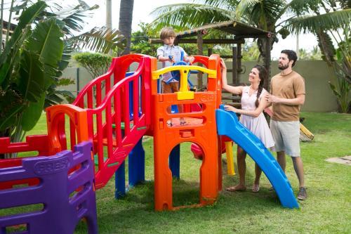 Children's play area at CASA Di VINA Boutique Hotel - antigo Mar Brasil