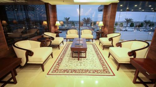 O lounge ou bar de Rabigh Park Hotel