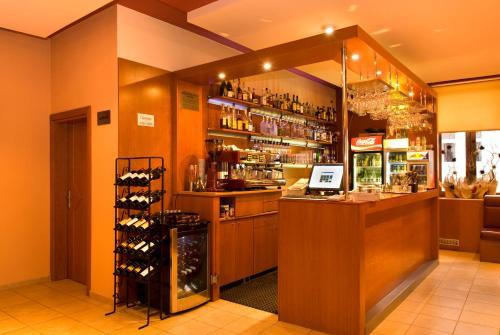 Lounge alebo bar v ubytovaní Penzion Franko