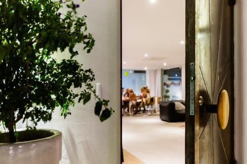 The lobby or reception area at Sea Sense Boutique Hotel
