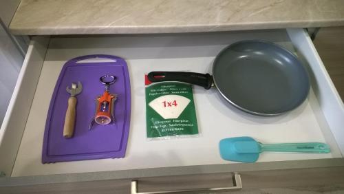 Принадлежности для чая и кофе в Apartment Pleskov Ganzeisky