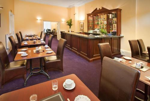 A restaurant or other place to eat at Ballantrae Hotel