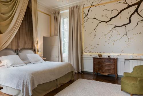 A room at Château de Saint Paterne