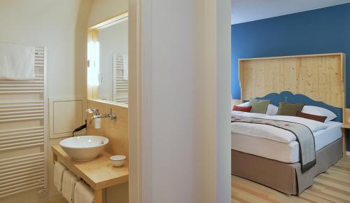 Ein Badezimmer in der Unterkunft Klosterhof