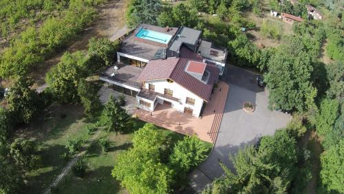 A bird's-eye view of Cherry Orchard Residence