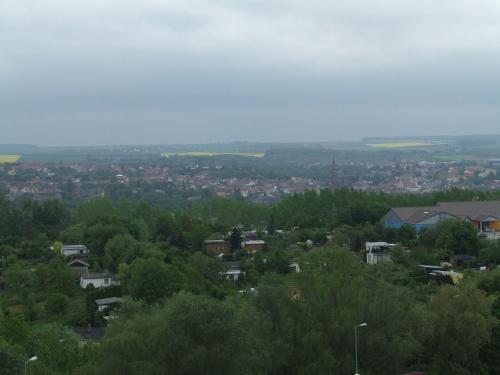 A bird's-eye view of Hotel Weimarer Berg