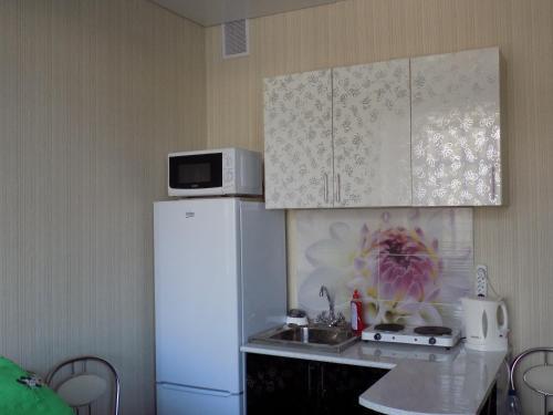 Кухня или мини-кухня в Y Tatiyany Gorkogo