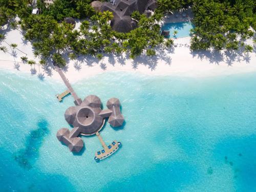 A bird's-eye view of Gili Lankanfushi Maldives