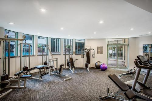 The fitness center and/or fitness facilities at Mantra Legends Hotel