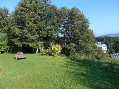 A garden outside Ferienwohnung Rath