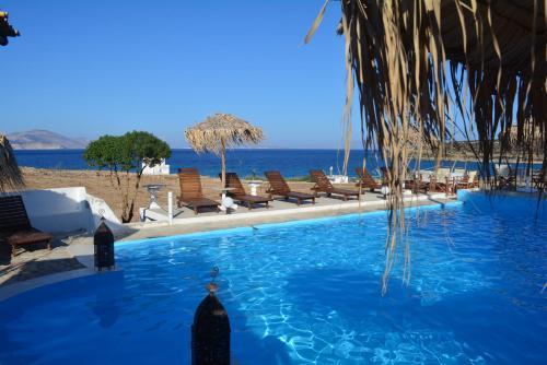 The swimming pool at or near Anatoli Studios