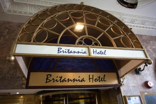 A certificate, award, sign or other document on display at Britannia Hotel Birmingham New Street Station Birmingham