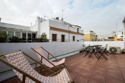 Terrasse ou espace extérieur de l'établissement Arc House Sevilla