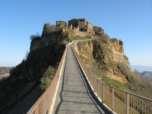 A balcony or terrace at Case di Civita