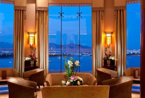 De lobby of receptie bij Stella Di Mare Beach Hotel & Spa