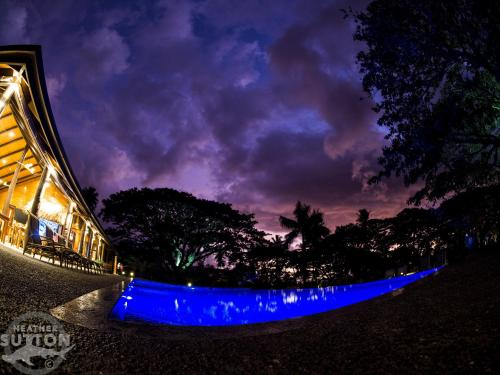 The swimming pool at or close to Taveuni Dive Resort
