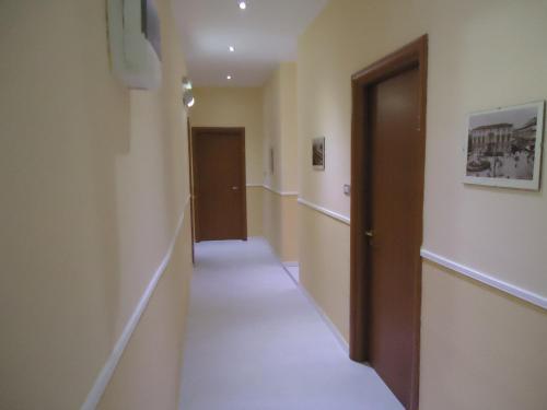 The lobby or reception area at Hotel Gorizia