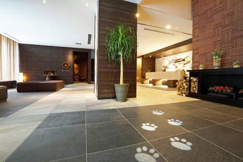 The lobby or reception area at La'gent Stay Sapporo Odori Hokkaido