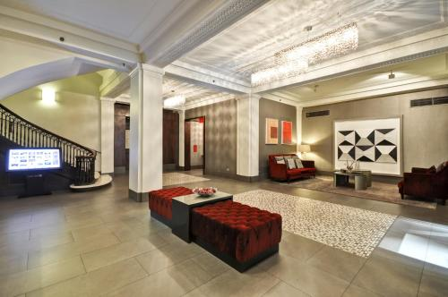 The lobby or reception area at Dylan Hotel NYC