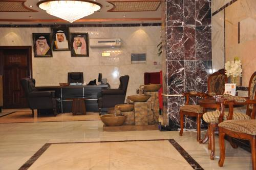 O saguão ou recepção de Mais jeddah suites 1