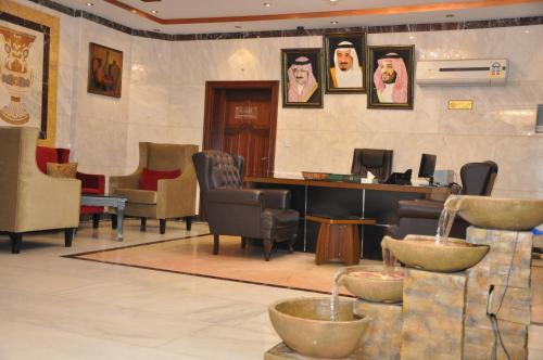 O lounge ou bar de Mais jeddah suites 1
