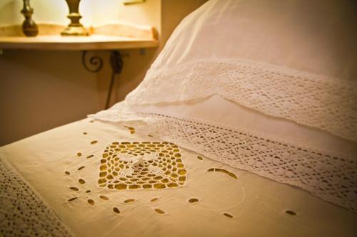 Letto o letti in una camera di Albergo La Primula