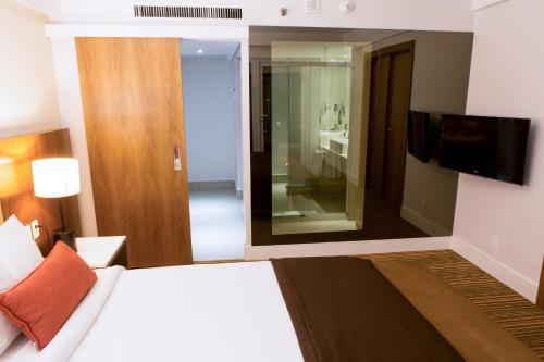Um quarto em Pullman Rio de Janeiro Sao Conrado