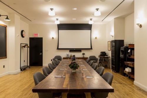Het zakengedeelte en/of de vergaderruimte van Ace Hotel New York