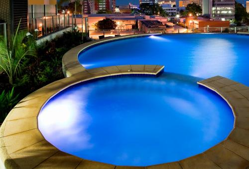 The swimming pool at or near Mantra Pandanas
