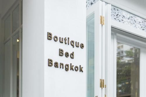A certificate, award, sign, or other document on display at Noursabah Boutique Bed Bangkok