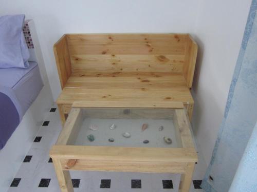 Ein Sitzbereich in der Unterkunft Toonja Kohlarn