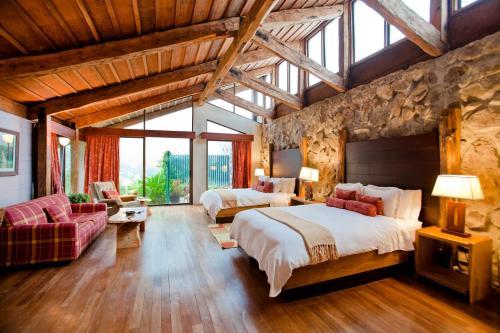A room at Poas Volcano Lodge
