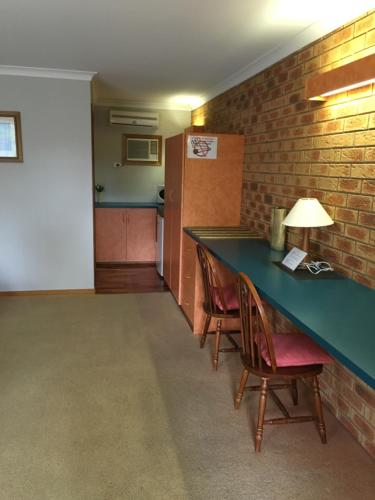 Dining area at the motel