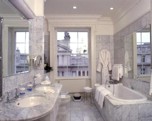 A bathroom at The Merrion Hotel