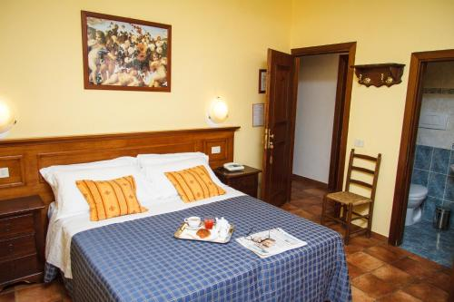 A room at Hotel Nizza