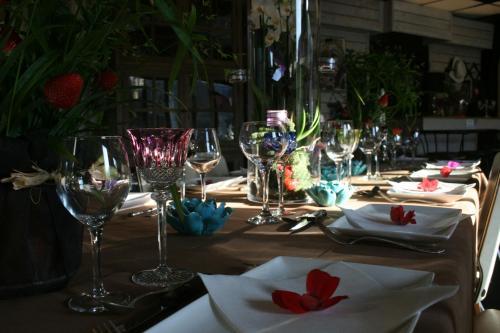 Restaurant ou autre lieu de restauration dans l'établissement Guesthouse Kathome