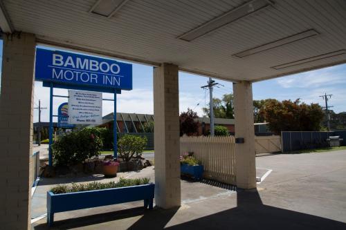 The facade or entrance of Bamboo Motor Inn