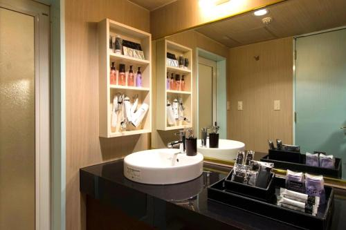 A bathroom at BAMBOO GARDEN 新横浜 Adult Only -The old name is REFTEL-