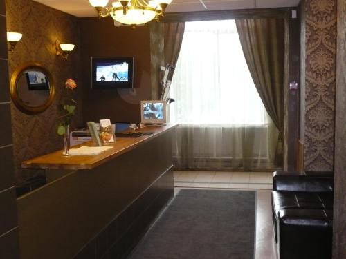 Лобби или стойка регистрации в Отель «На Ленинском »