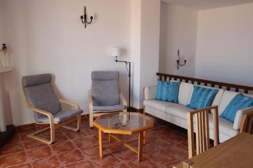 Zona de estar de Townhouse in Punta Lara