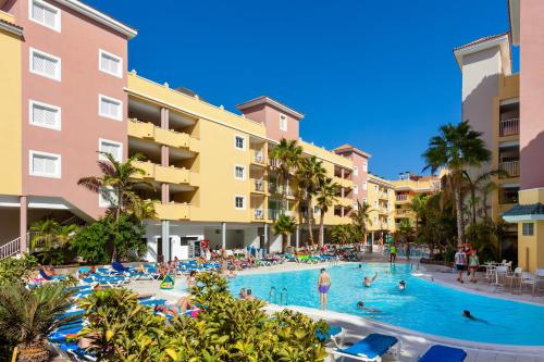 The swimming pool at or near Chatur Costa Caleta